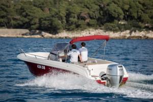 atlantic open 670 boat rental dubrovnik adriatic explore