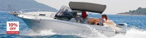 boat rent dubrovnik atlantic suncruiser 730