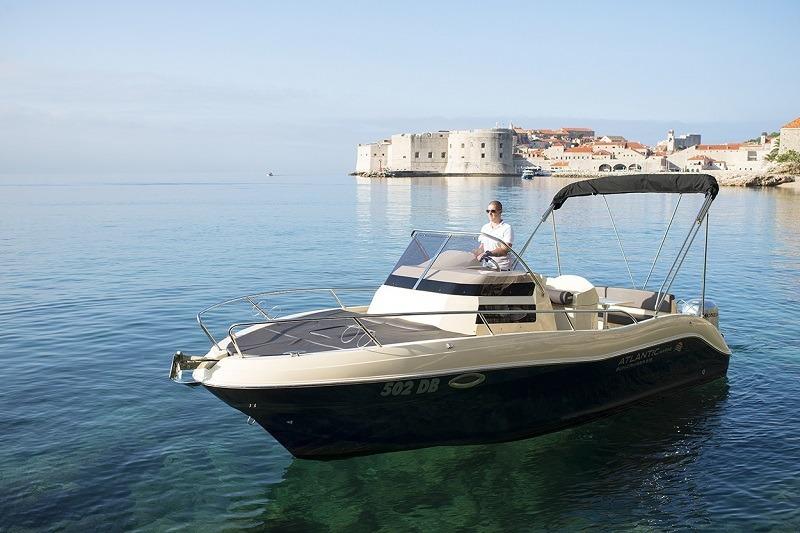 atlantic suncruiser boat rent dubrovnik