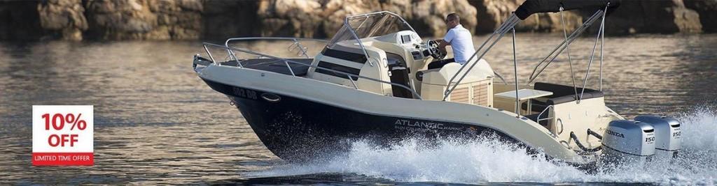 atlantic suncruiser 815 boat rent dubrovnik