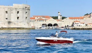 atlantic open 670 boat rental dubrovnik adriatic explore