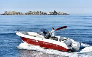 boat rental dubrovnik adriatic explore atlantic open 670