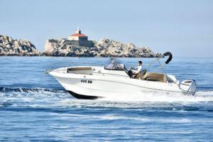 boat rent dubrovnik atlantic open 750