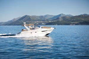 boat rent dubrovnik jeanneau leader 8