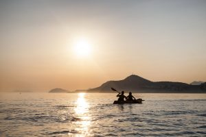 kayak tours dubrovnik sunset
