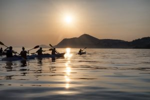 kayak tours dubrovnik sunset view