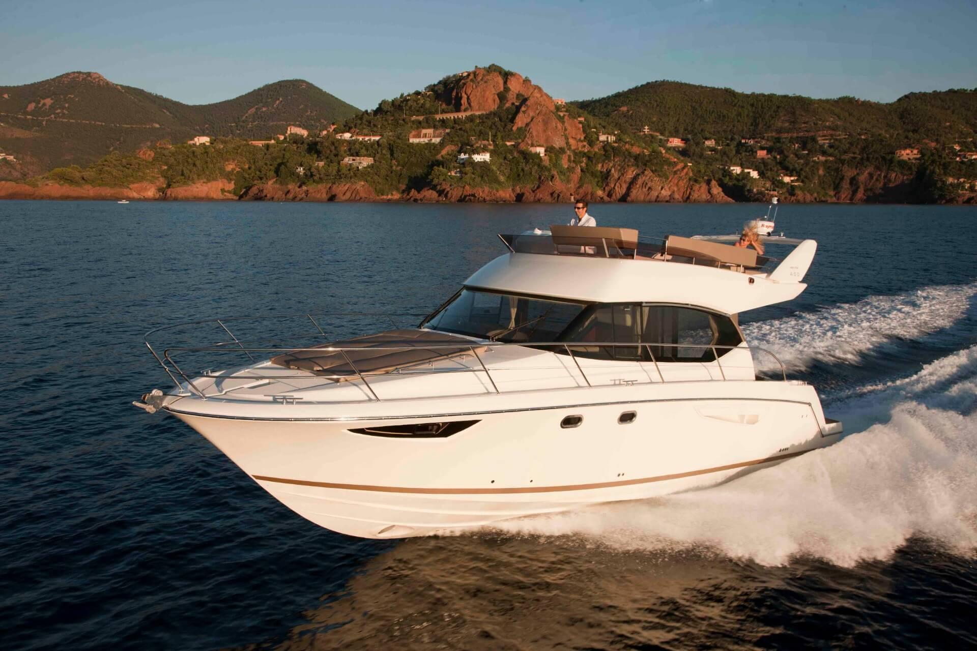 jeanneau prestige 400 fly boat rent dubrovnik