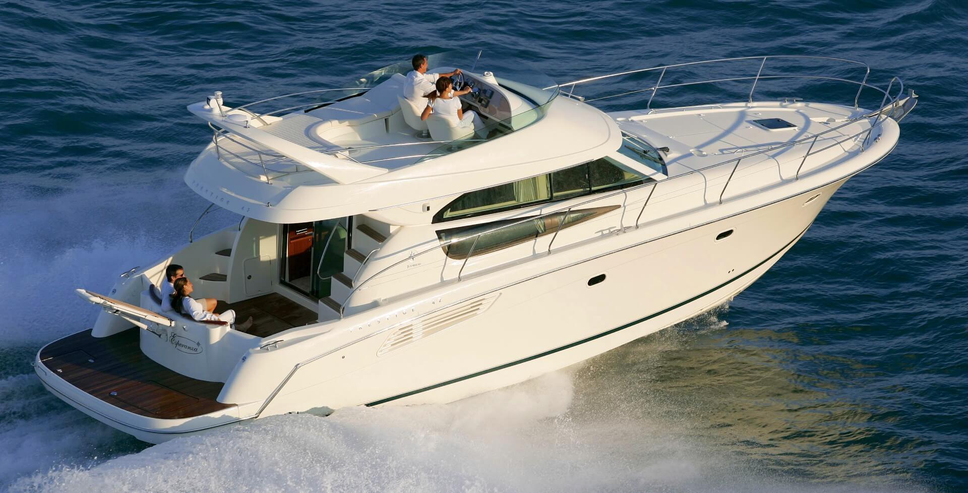 jeanneau prestige 42 fly boat rent dubrovnik